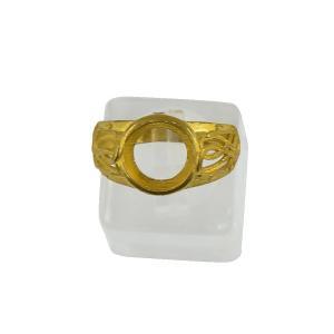 真鍮 指輪 リング ブランク DIY素材 中空 飾り物 全2サイズ - 10mm|stk-shop