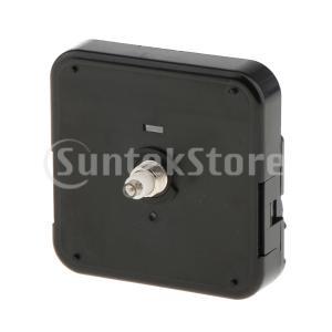 Fenteer DIY クロック 部品 ムーブメント 交換用 クォーツ 時計用 修理 黒 全3種類 - ブラック1|stk-shop