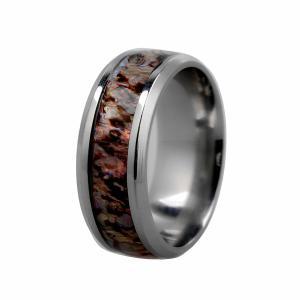ステンレス 魅力 人気 メンズ リング 指輪 高研磨 簡潔  幅8mm  全5サイズ - us7 stk-shop