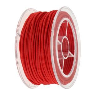 説明: 編組ポリエステルシルクで覆われたゴム製の丸い弾性糸。  Distinctiveline、弾力...