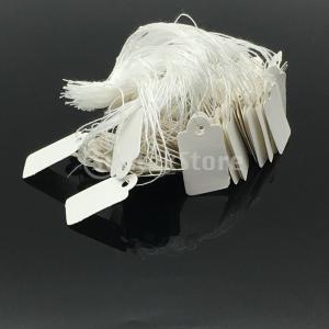 値札 価格タグ 糸付き 白紙 宝飾品用 衣類展示用 倉庫品用 約500個入り