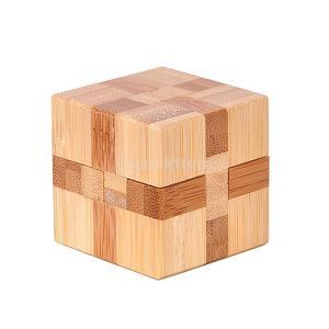 KOZEEY知育玩具 木製 古典的 立方体 明ロック 組み立て パズルインテリジェンス 教育玩具 贈り物 家の装飾 空間能力をチャレンジ