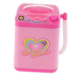 説明:  愛らしいは、洗濯機を見て、実際のプレイふり。  ボタンを押すと、 洗濯機が回転します、と音...