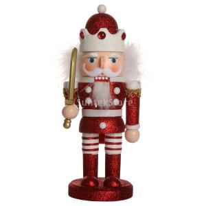 手作り 木製 くるみ割り人形 ナッツクラッカー 家 クリスマス 飾り おもちゃ 子供 贈り物   - #4