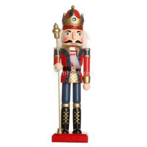 手作り 木製 くるみ割り人形 ナッツクラッカー 家 クリスマス 飾り おもちゃ 子供 贈り物   -...