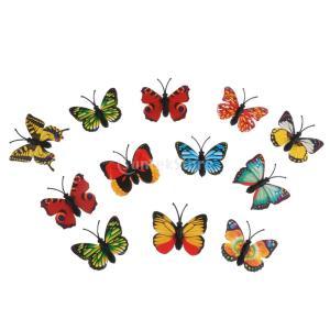 説明: 子供のおもちゃの美しい蝶動物図モデル生き生きとしたカラフルなデザインあなたのコレクションの傾...