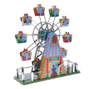 Fenteer インテリア 室内飾り用 玩具 ヴィンテージ 時計仕掛け 観覧車モデル おもちゃ