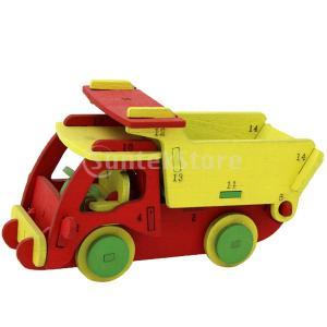 Perfeclan 全3カラー選ぶ エンジニアリング車両模型 ジグソーパズル 立体パズル 3Dパズル...