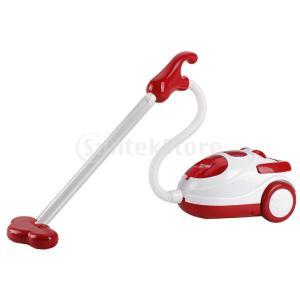 説明:シミュレーションふり遊び家庭電化製品掃除機玩具子供のための大きいロールプレイおもちゃ単3乾電池...