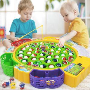 全3サイズ 子供 魚 電気音楽おもちゃ 釣りおもちゃ ロールプレイおもちゃ ふり遊び  - 15匹の魚|stk-shop
