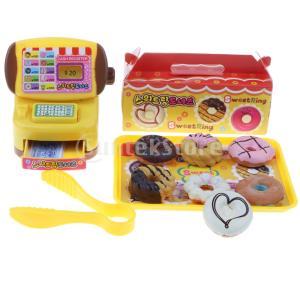 7e1a75a1ca913c B Baosity 店シミュレーション キャッシュレジスター 食べ物 子供 ふり遊びおもちゃ 遊び場 8色 - パン屋