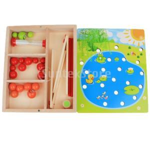 子供 幼児 知育玩具 木製 クリップビーズゲーム 早期教育玩具