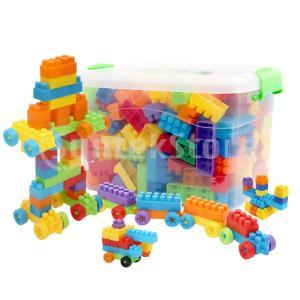 キッズステムおもちゃ ブロックパズル 空間的思考 脳力開発 子供教育 想像力育成 約180個入り