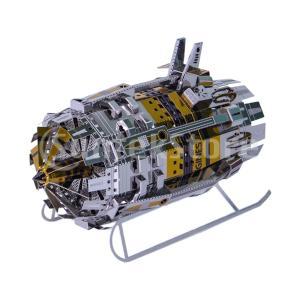 エンジン玩具 3Dパズル 構築キット パズル玩具 メタルパズル DIY  立体パズル 工芸品 小道具...