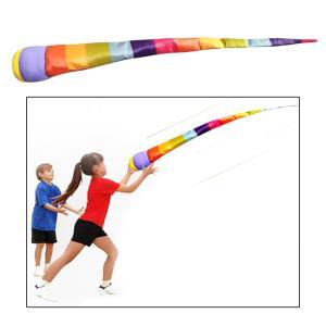 手スロー流星虹ボールリボン土嚢感覚ゲームをプレイ屋外のおもちゃ子供スポーツ楽しい子供子供 stk-shop