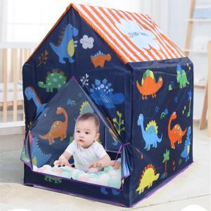 折りたたみ式キッズテントハウス男の子と女の子はテント子供プレイハウスおもちゃ恐竜Bを再生します stk-shop