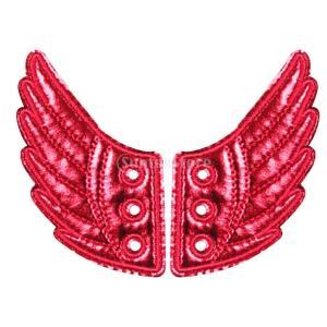 1ペア 靴用 天使の翼 ウィング 翼 シューズアクセサリー 女の子 滑り止め 靴 スニーカー ブーツ...