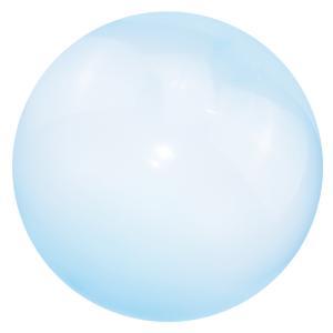 インフレータブルバブルボールスーパーストレッチ泡バルーンアウトドアパーティーブルーL|stk-shop
