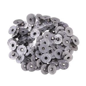 全6サイズ選ぶ 約200個セット 金属製 キャンドル用 座金 台座 金具 - 12.5x2.5mm|stk-shop