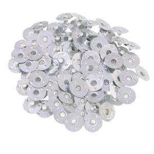 金属 キャンドル 座金 手作りキャンドル用 座金 約200個入り 全6サイズ選ぶ - 14x3mm|stk-shop