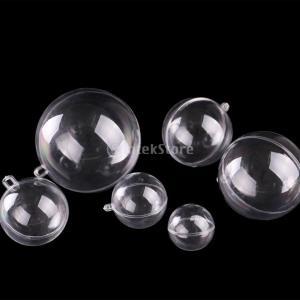 説明: 真新しく高品質食品グレードのプラスチック材料で作られたクリアフィルプラスチックボール各球体は...