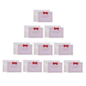 グリーティングカード 挨拶状 招待状 誕生日、結婚式、バレンタイン、クリスマス、記念日、バッグシャワー、パーティー用 10枚入り|stk-shop