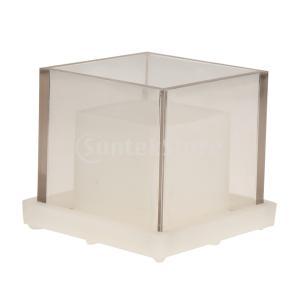 Perfeclan キャンドルモールド 金型 プラスチック 中空 立方体 材料 手工芸品|stk-shop