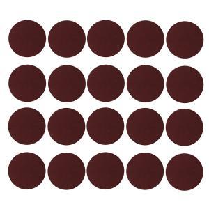 サンドペーパー サンディングディスク 研磨工具 約20枚入り 赤 全17サイズ - 2000グリット|stk-shop
