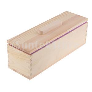 木製 食パンケース トースト型 石鹸型 シリコンモールド UVレジン型 パン型 再利用可能