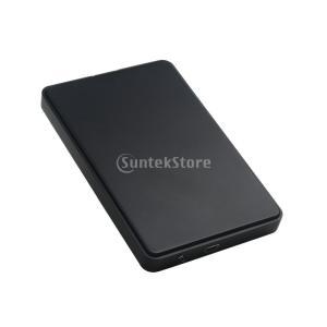 SATA 2.5 インチ ハードディスクドライバー 適合 HDDケース エンクロージャー ポーチバ...