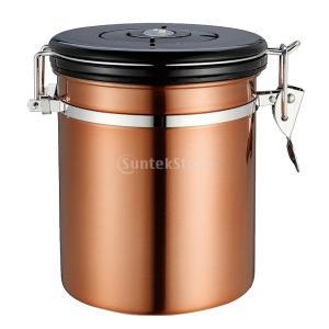 説明:美しいとスタイリッシュ、持ち運びに便利な高品質のステンレスコーヒー容器、 蓋の上タイムホイール...