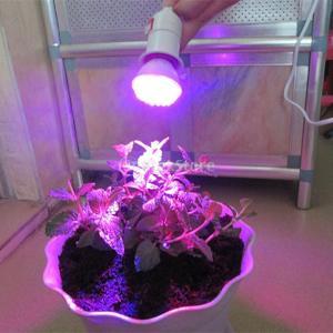 Lovoski 2ワット 38LEDライト 植物灯 照明 庭園 水耕 植物育成 ランプ 低消費電力 長寿命 110V