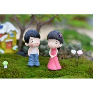 説明: 非常にかわいい、苔微細風景、植木鉢に適していますかわいい園芸小道具、小さな装飾造園に最適活気...