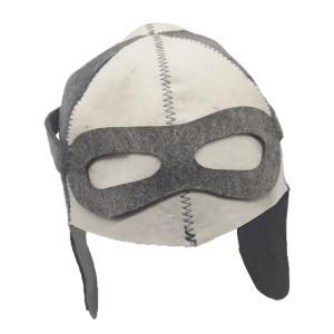 説明:  100%ナチュラルウールフェルト柔らかい贅沢な気分サウナの帽子は頭と髪を過熱から保護し、熱...
