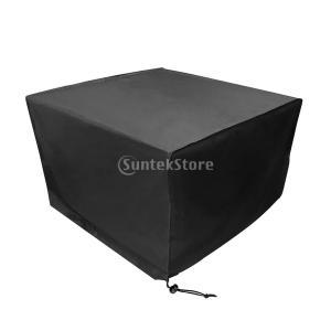 ガーデン 室外 多機能 家具カバー ファニチャーカバー 梅雨対応 全3サイズ選ぶ - 123x 123x 74cm|stk-shop