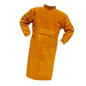 IPOTCH 溶接保護ジャケット 作業服 溶接用 エプロン 保護 カバー 耐久性 機敏性 耐磨耗性 高品質 安全 全4サイズ2色選べ - 110cm オレンジ