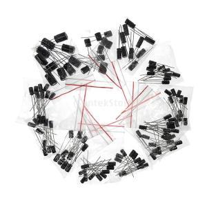 約120個 電解 コンデンサ 12値 16ボルト 25ボルト 50ボルト