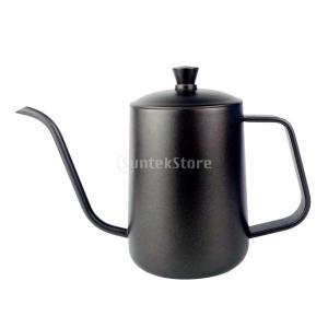 説明: ステンレススチール、ガチョウのカーブ、コーヒーとお茶のケトルを使用し、注ぎ込み時の正確な制御...