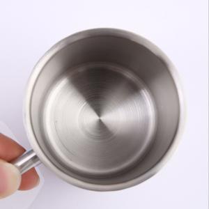 マグカップステンレス高品質二重壁断熱性 220ml|stk-shop