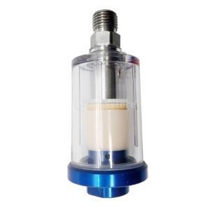 説明: それはスプレーガンに直接接続して空気中のほこりと油をろ過することができます。 この製品には凝...