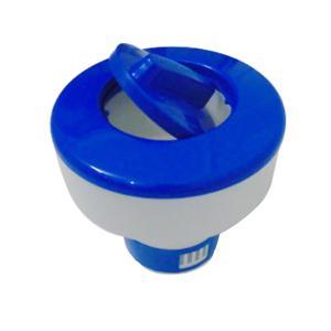 錠剤 塩素 自動ディスペンサー フローティング 調節可能 温泉 スイミングプール - 8インチ|stk-shop