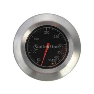 Sharplace 高品質 バーベキュー温度計 BBQグリル温度計 ステンレス鋼 耐久性 料理用|stk-shop