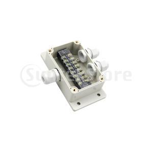 IP66は2のうちの電気接続箱ケーブルの腺132x69x50mm 1を防水します
