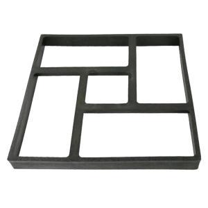 舗装 金型 40x40cm 石畳 型枠 成形 遊歩道 庭園 景観 DIY コンクリート ウォークメーカー|stk-shop