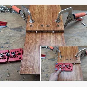 ダボジグキット補助ツールパンチロケータ8/10/15ミリメートル自己センタリングダボドリルガイド穴木工用|stk-shop