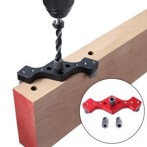 垂直穴留置セルフセンタリングガイドドリルロケーターパッケージ1赤 stk-shop