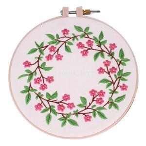 Perfk 全3スタイル選べる 初心者 現代手刺繍キット 刺繍サンプラーキット 素晴らしいギフト  - #2|stk-shop