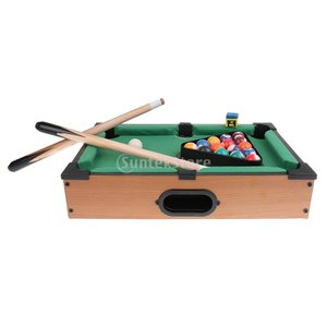 SONONIA ミニ ビリヤードボール スヌーカー 卓上 プールテーブル デスクトップゲーム セット おもちゃ 子供 贈り物