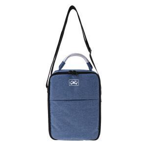 キャンバス ハンド&ショルダーバッグ DJI Sparkドローン用 アクセサリー 全2色 - 青