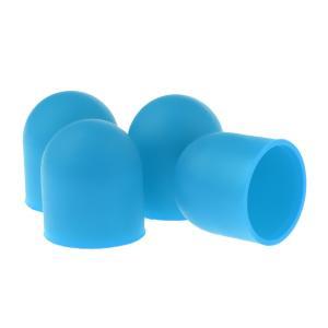 シリコン モーターカバー 保護ガード キャップ DJI Mavic Airドローン用 全6色  - 青|stk-shop
